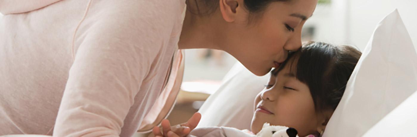 Alivio del dolor de cabeza de los niños