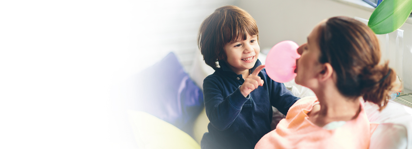 Children's MOTRIN® now available in Bubble Gum and Grape flavors.