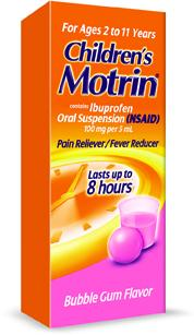 ibuprofen dosage 6 years old