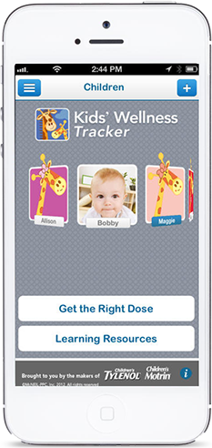 Kids' Wellness Tracker App