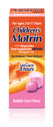 Fever Reducer & Pain Relief with Children's MOTRIN®