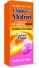 Children's Motrin® Bubblegum Pain Reliever