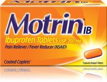 MOTRIN® IB Caplets (comprimidos)