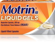Motrin IB Liquid Gels (cápsulas líquidas)